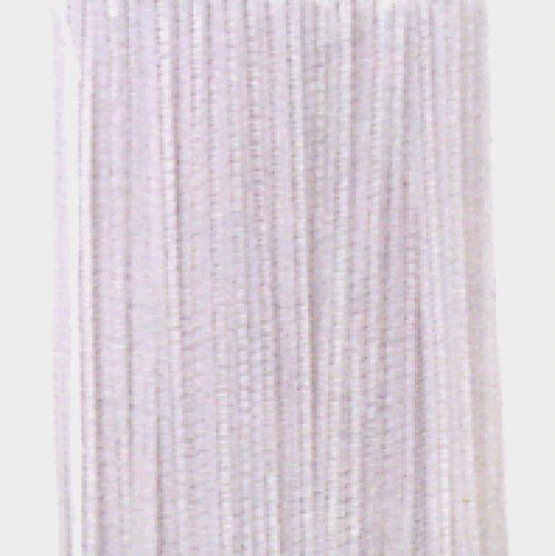 Chenille Stems (White color, 100 per pack)