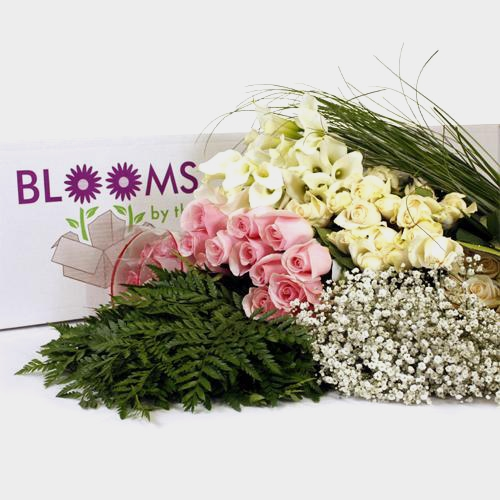 Traditional Rose & Mini Calla Lily DIY Wedding Pack