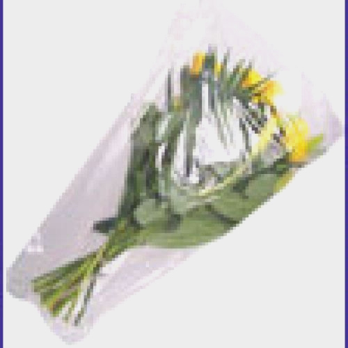 Cellophane Bouquet Sleeves (Clear)  4x18x14 (50 Pack)