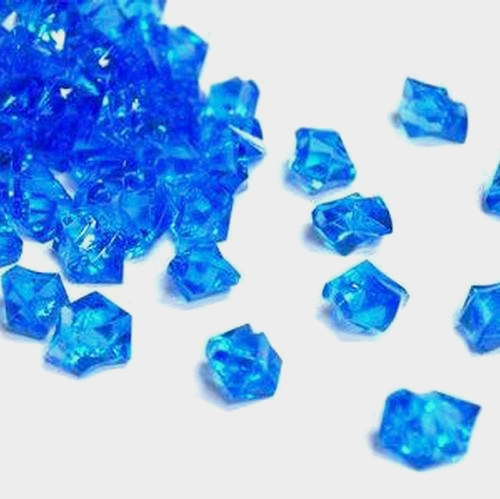 Ice Sea Blue Acrylic
