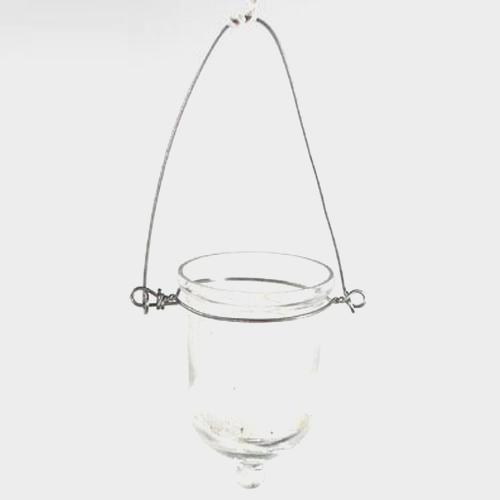 Hanging Votive Glass (6 per box)