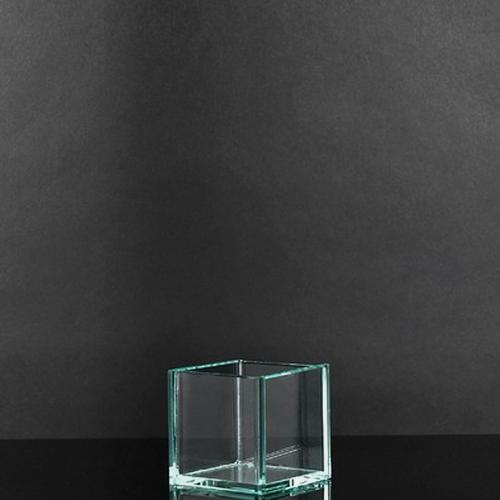 Xsmall Square Glass Vase (3