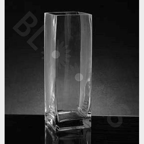 Medium Square Glass Vase (10