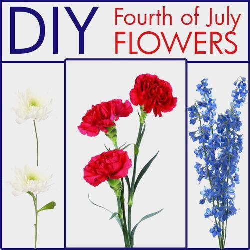 Patriotic DIY Flower Party Pack