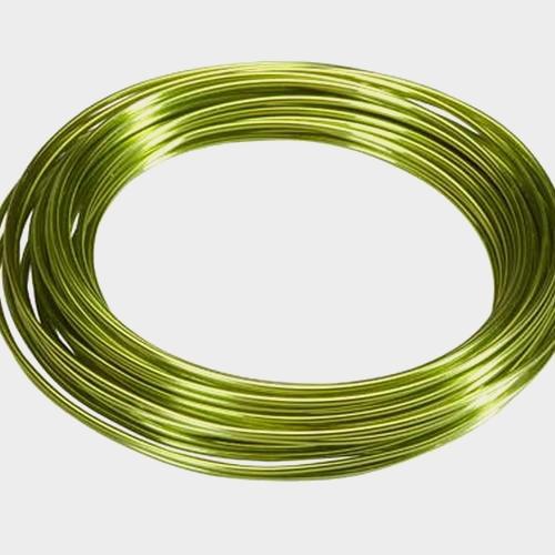 Apple Green Aluminum Wire- 12 Gauge 39ft Roll