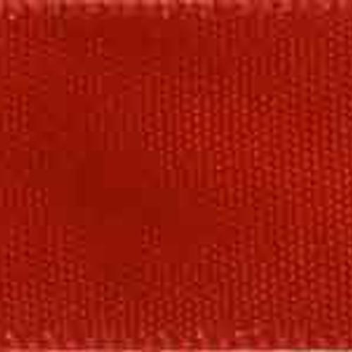 1 1/2 inch Double Faced Satin #9 Red 50 Yards