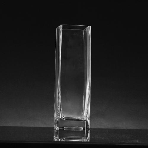 Medium Square Glass Vase (6