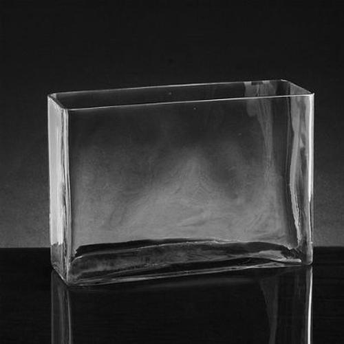 Xlarge Rectangle Glass Vase (8