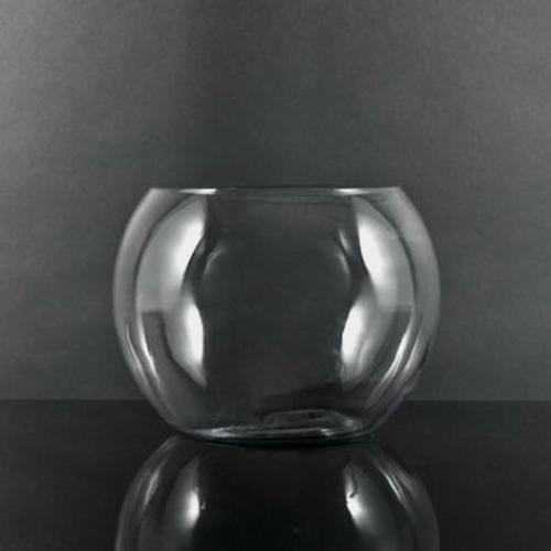 8 Inch Glass Bubble Bowl