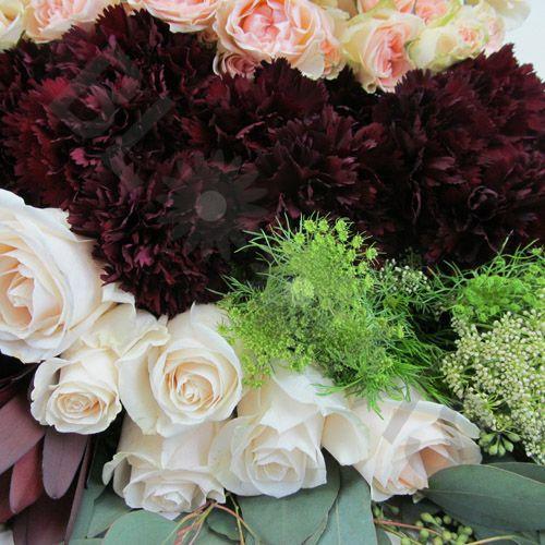 Pantone Marsala Flower Pack
