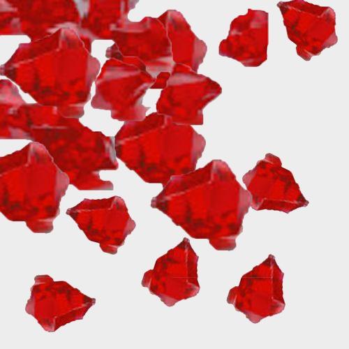 Red Acrylic 1lb Bag