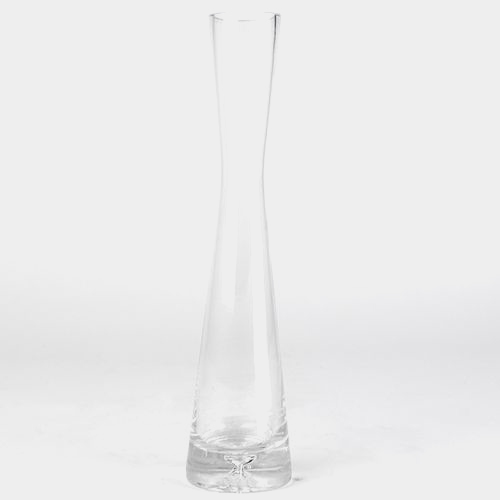 10 Inch H X 1.5 Inch  Clear Bud Vase