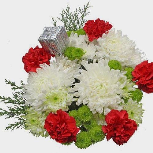 Mixed Bouquet 18 Stem - Let It Snow