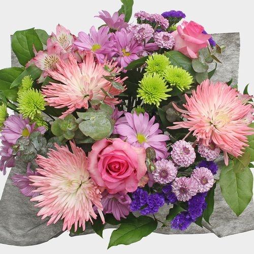 Mixed Bouquet 20 Stem - Pink Sunset