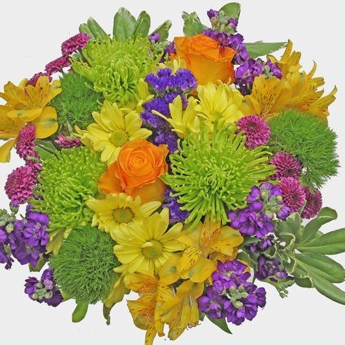Mixed Bouquet 23 Stem - Green Meadow