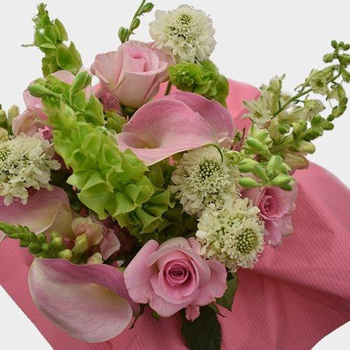 Premium Gift Bouquet Pink & White Spring Fields